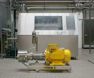YTRON-Z In-Line High Shear Homogeniser | Ytron-Quadro (UK) Ltd
